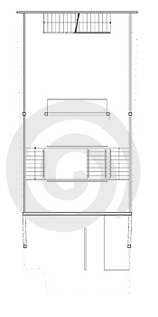 Blueprint Second Floor Plan Royalty Free Stock Photo - Image: 14689745
