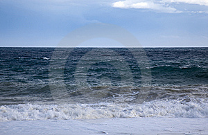 Big Waves From Mediterranean Sea Stock Photo - Image: 14690940