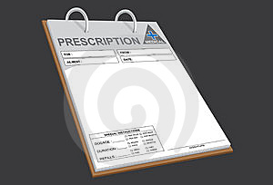 Prescription Notes Royalty Free Stock Images - Image: 14691099