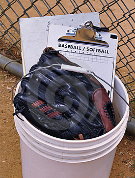 Getting Ready For The Game Royalty Free Stock Photo - Image: 14691845
