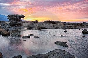 Sunrise At Kostabrava Beach Stock Image - Image: 14692961