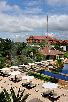 Siem Reap Hotel Royalty Free Stock Photography - Image: 14693007