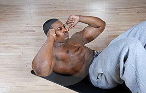 O Americano Que Africano Fazer Se Senta Levanta E Tritura Fotografia de Stock - Imagem: 14694382