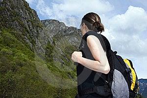 Tourist  Hike Stock Image - Image: 14696101