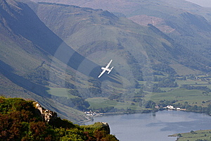Hercules Over Lake Royalty Free Stock Photography - Image: 14698507