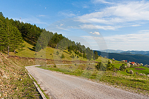 Mountain Road Stock Images - Image: 14699534