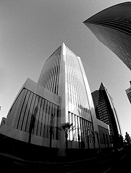 Fisheye Buildings Stock Photography - Image: 1475562