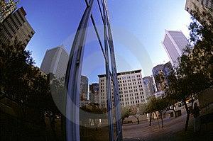 Fisheye Buildings Royalty Free Stock Images - Image: 1475699