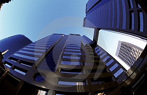 Fisheye Buildings Royalty Free Stock Photo - Image: 1475725