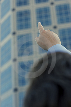 Businessman Setting The Standard Royalty Free Stock Photography - Image: 1475867