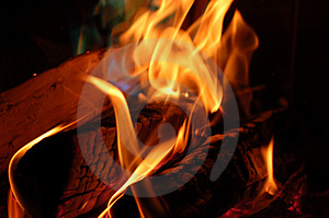 Flame #4 Stock Photos - Image: 1476683