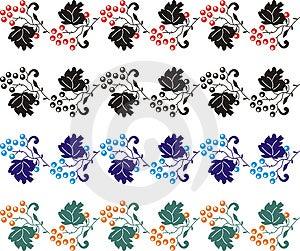 Element For Design, Corner Flower 05 Royalty Free Stock Images - Image: 1479579