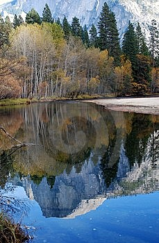 Half Dome Reflected Royalty Free Stock Photo - Image: 14700825