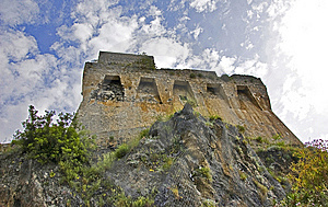 Saracen Watch Tower Royalty Free Stock Image - Image: 14700896