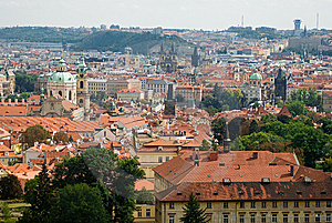 View Pf Prague Stock Photo - Image: 14701860