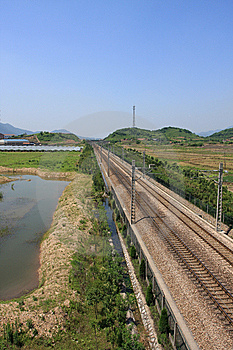 China's Railway Transportation Stock Image - Image: 14701911