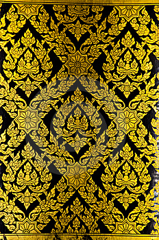 Thai Style,craftman Paint Stock Photos - Image: 14703463