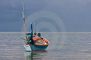 Fishery Boat Royalty Free Stock Images - Image: 14703839