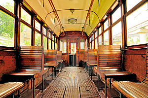 Vintage Tram Stock Images - Image: 14706664