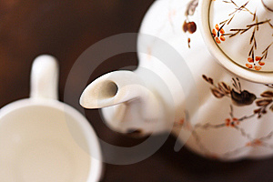 Tea Service Stock Images - Image: 14707474