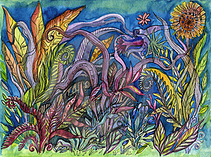 Exotic Plants. Royalty Free Stock Photo - Image: 14707915