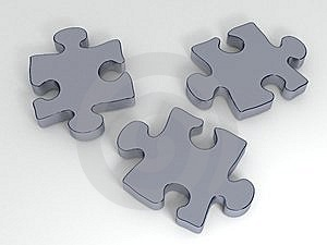 Puzzle Pieces Stock Images - Image: 14710274
