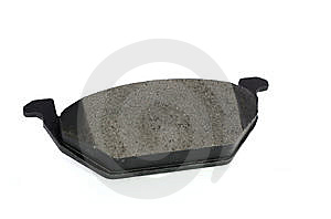 Isolated Disc Brake Pad Royalty Free Stock Photo - Image: 14713865