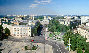 Kyiv Panorama. Stock Photos - Image: 14714513