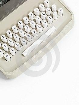 Retro Typewriter Keyboard Stock Images - Image: 14715264