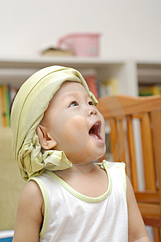 Happy Baby Royalty Free Stock Image - Image: 14716156
