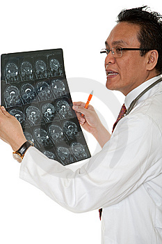 Doctor Diagnosis X-ray Stock Image - Image: 14716421
