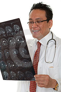 Doctor Diagnosis X-ray Royalty Free Stock Photo - Image: 14716425