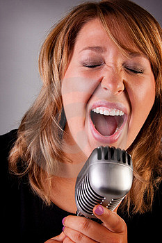 Singer Stock Photos - Image: 14716713