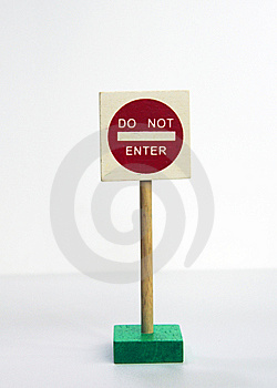Do Not Enter Sign Royalty Free Stock Image - Image: 14718206