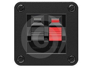 Speaker Input Socket Royalty Free Stock Photos - Image: 14719228