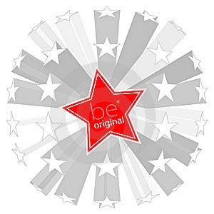 Be Original Concept Illustration Stock Photos - Image: 14720193