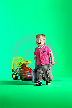 The Portrait Of A Happy Little Boy Royalty Free Stock Images - Image: 14720349