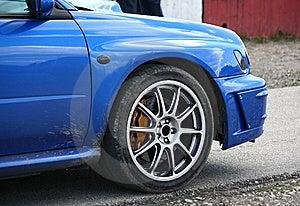 Blauwe Sportwagen Stock Afbeeldingen - Afbeelding: 14720924