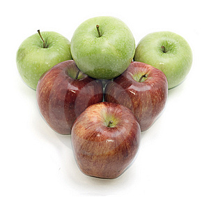 Group Of Apples Stock Image - Image: 14723561