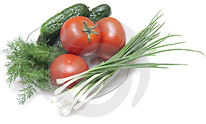 Tomatoes And Cucumbers Royalty Free Stock Photos - Image: 14724058