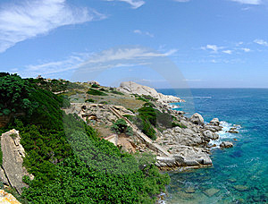 Coast In Sardinia Royalty Free Stock Photography - Image: 14724177