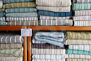Thai Textiles Stock Image - Image: 14727311