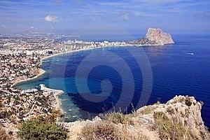 Calpe Bay Royalty Free Stock Photos - Image: 14727978