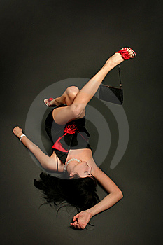 Lying On Dark Royalty Free Stock Photo - Image: 14728015
