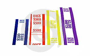Currency Wrappers Royalty Free Stock Images - Image: 14728049