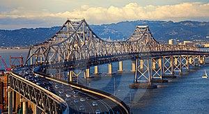 Bay Bridge Royalty Free Stock Photography - Image: 14730907