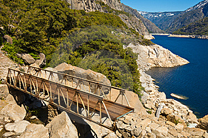 Bridge At Hetch Hetchy Stock Photography - Image: 14730992