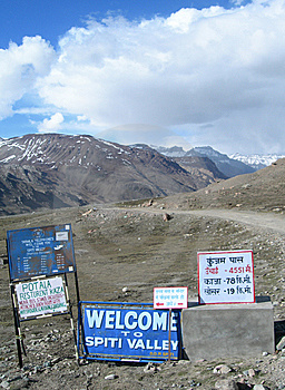 Spiti Valley In The Himalayan Mountains, India Stock Photography - Image: 14739062