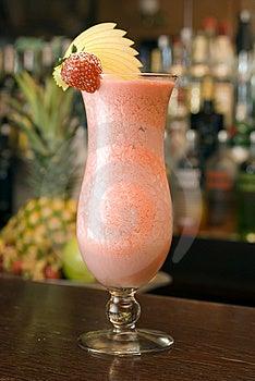 Strawberry Longdrink Stock Images - Image: 14741514