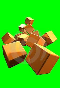 Cube Stock Images - Image: 14744714